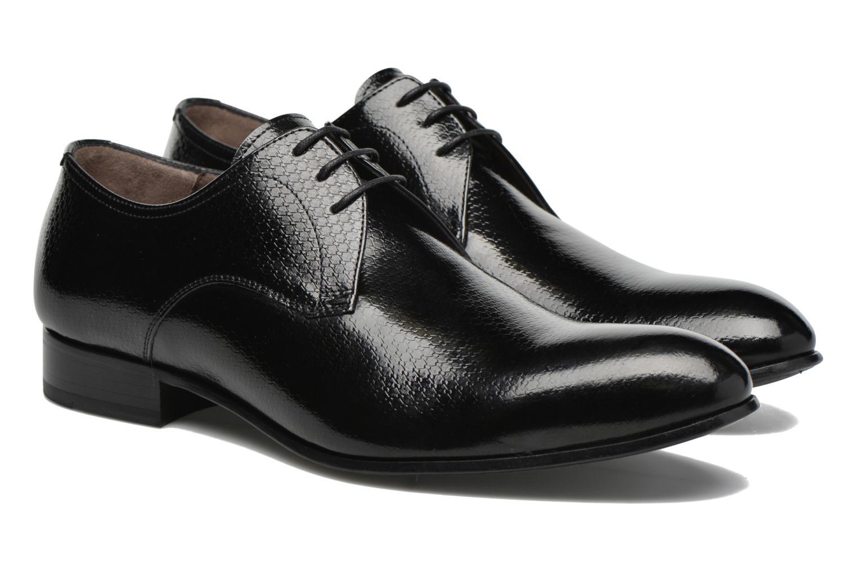 Chaussures à lacets Karl Lagerfeld Alberto Noir vue 3/4