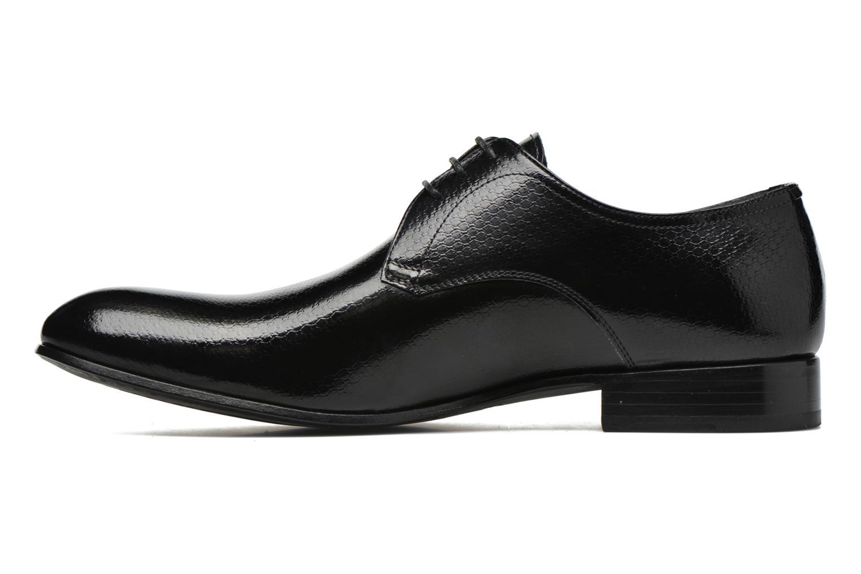 Chaussures à lacets Karl Lagerfeld Alberto Noir vue face