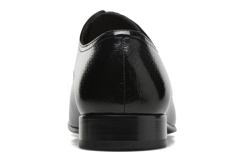 Chaussures à lacets Karl Lagerfeld Alberto Noir vue droite