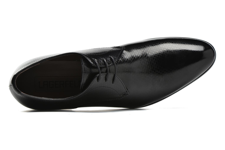 Chaussures à lacets Karl Lagerfeld Alberto Noir vue gauche