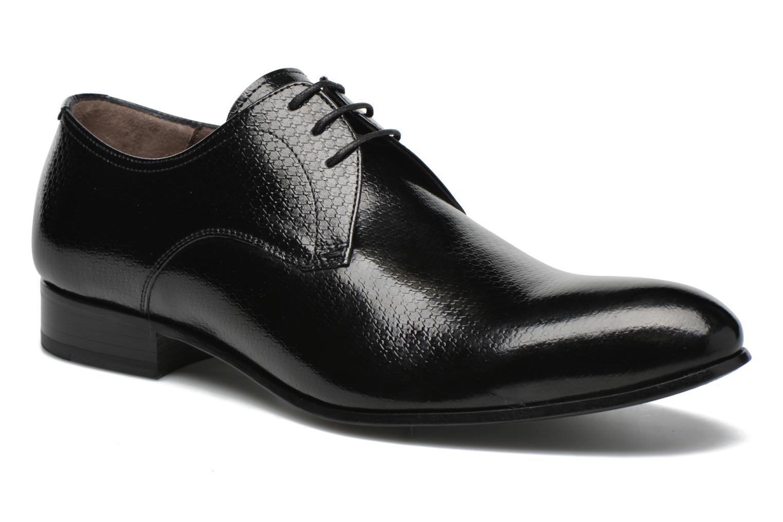 Chaussures à lacets Karl Lagerfeld Alberto Noir vue détail/paire