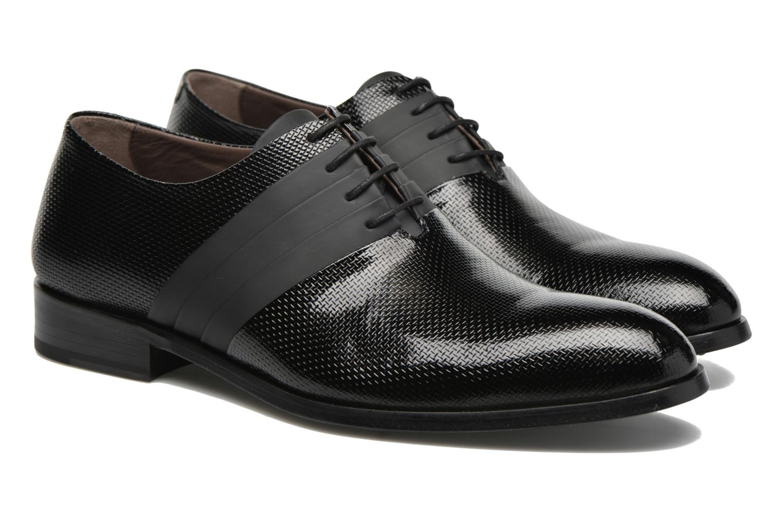 Chaussures à lacets Karl Lagerfeld Bernardo Noir vue 3/4
