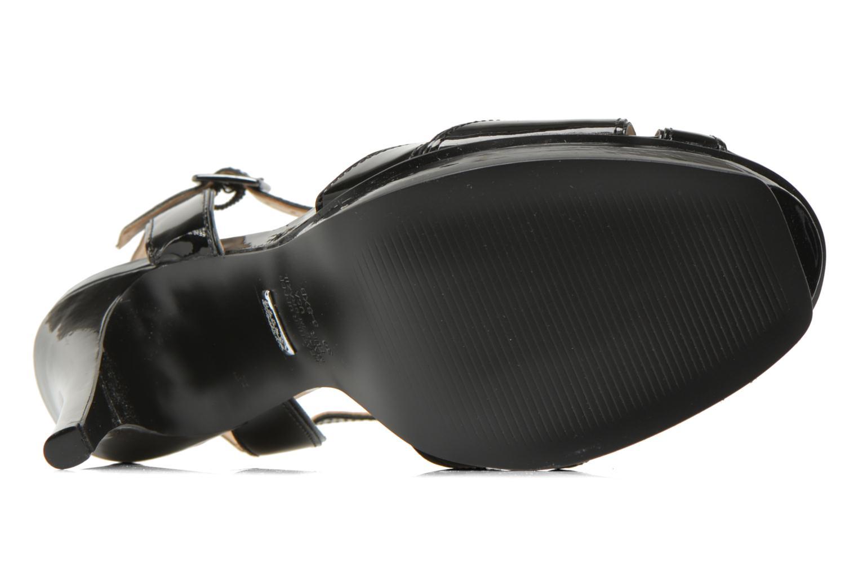Sandales et nu-pieds Buffalo Aya Noir vue haut