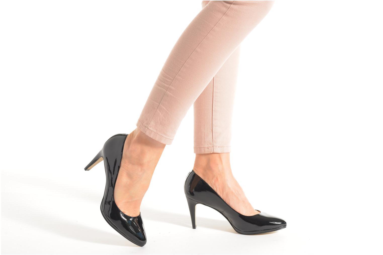 Zapatos de tacón Buffalo Leonce Negro vista de abajo