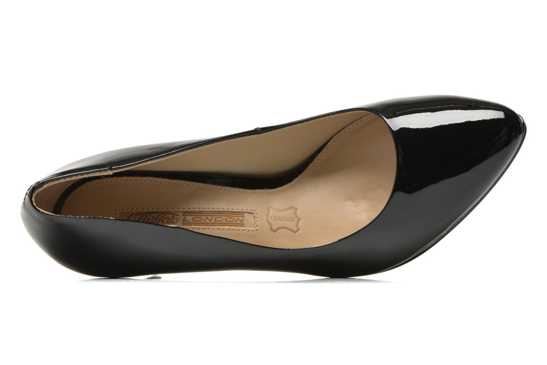Zapatos de tacón Buffalo Leonce Negro vista lateral izquierda