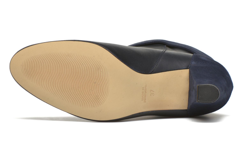 Bottines et boots Petite mendigote Argentiere Bleu vue haut