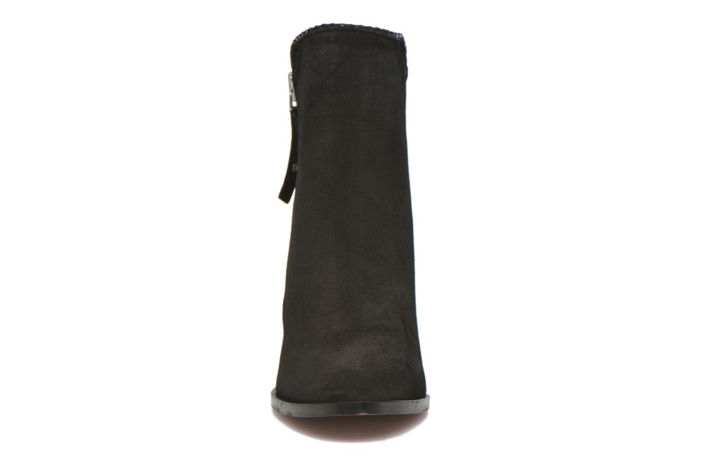 Bottines et boots Petite mendigote Morzine Noir vue portées chaussures