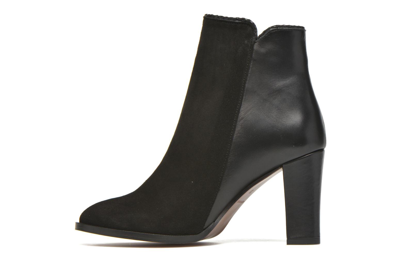 Bottines et boots Petite mendigote Morzine Noir vue face