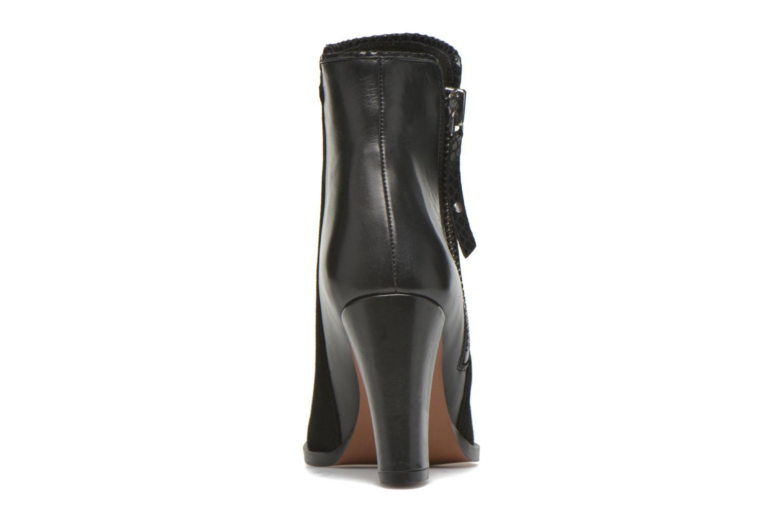 Bottines et boots Petite mendigote Morzine Noir vue droite
