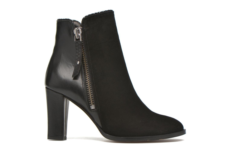 Bottines et boots Petite mendigote Morzine Noir vue derrière