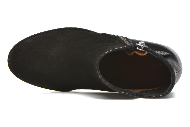 Bottines et boots Petite mendigote Morzine Noir vue gauche