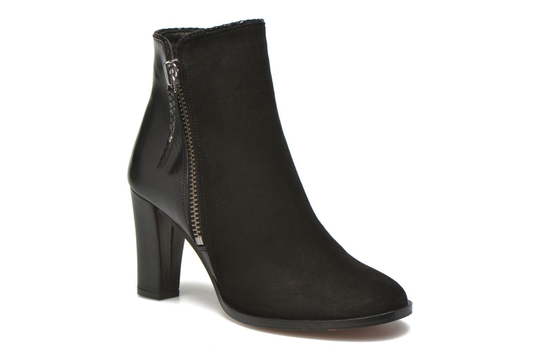 Bottines et boots Petite mendigote Morzine Noir vue détail/paire