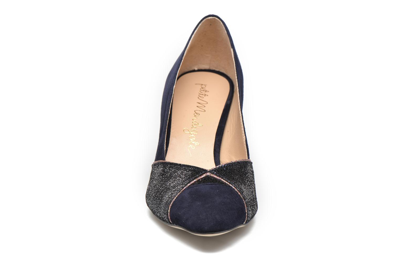 Escarpins Petite mendigote Minnie Bleu vue portées chaussures