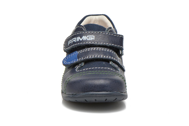 Chaussures à scratch Primigi Tyler Bleu vue portées chaussures
