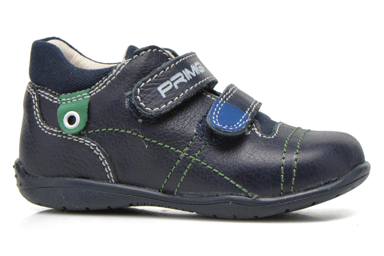 Chaussures à scratch Primigi Tyler Bleu vue derrière
