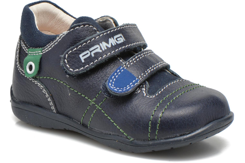 Chaussures à scratch Primigi Tyler Bleu vue détail/paire