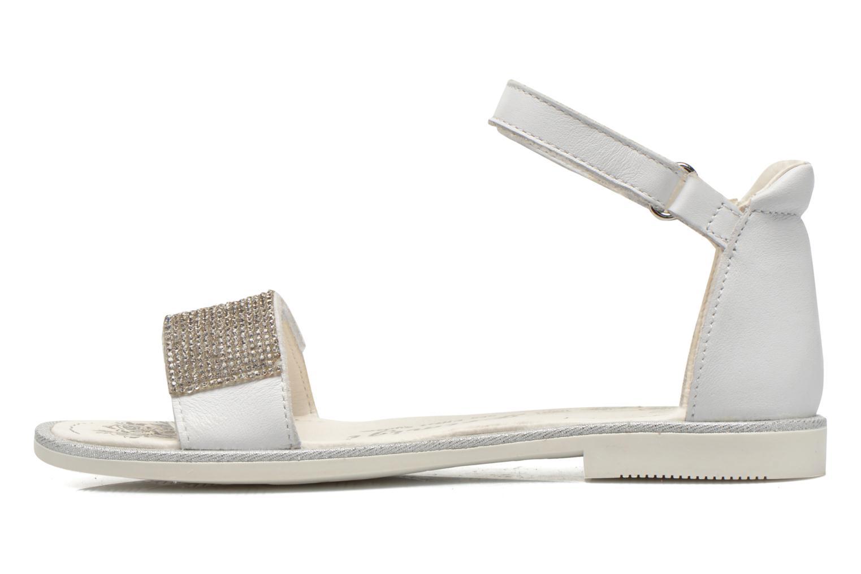 Sandali e scarpe aperte Primigi Roxane Bianco immagine frontale