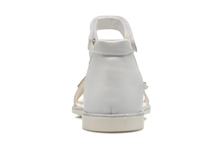 Sandali e scarpe aperte Primigi Roxane Bianco immagine destra