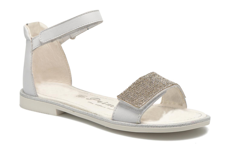 Sandals Primigi Roxane White detailed view/ Pair view