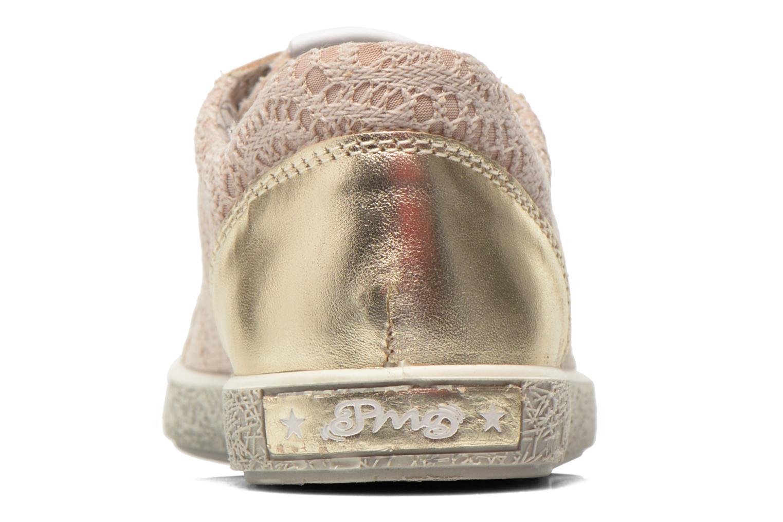 Baskets Primigi Holly Or et bronze vue droite