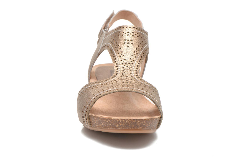 Sandales et nu-pieds Pikolinos RENNES 931-7840A Or et bronze vue portées chaussures