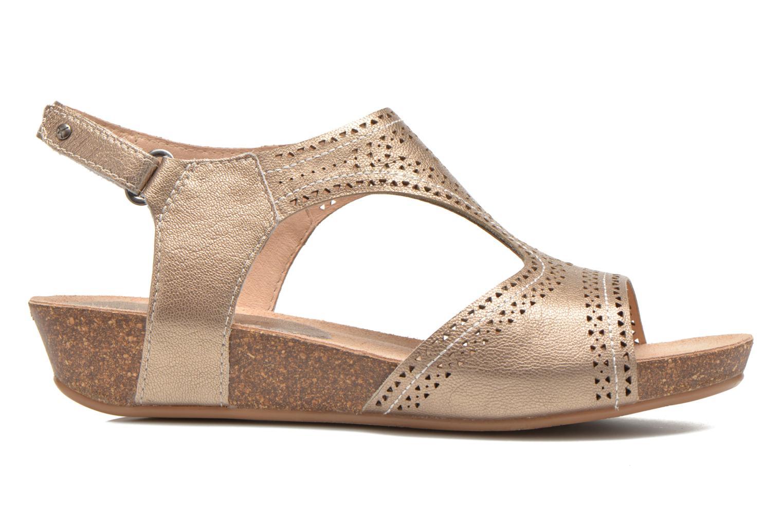 Sandales et nu-pieds Pikolinos RENNES 931-7840A Or et bronze vue derrière