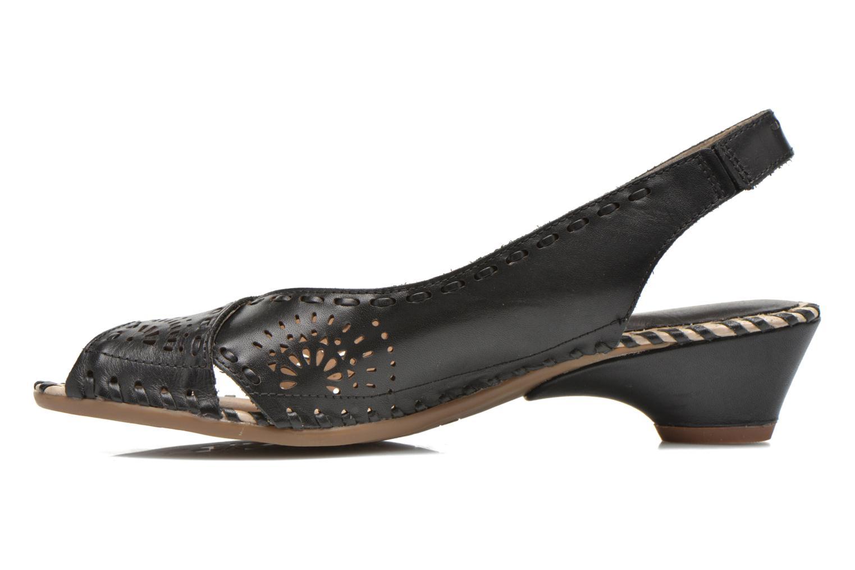 Sandales et nu-pieds Pikolinos Romana W7A-5523 Noir vue face