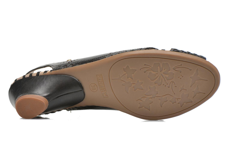 Sandales et nu-pieds Pikolinos Romana W7A-5523 Noir vue haut