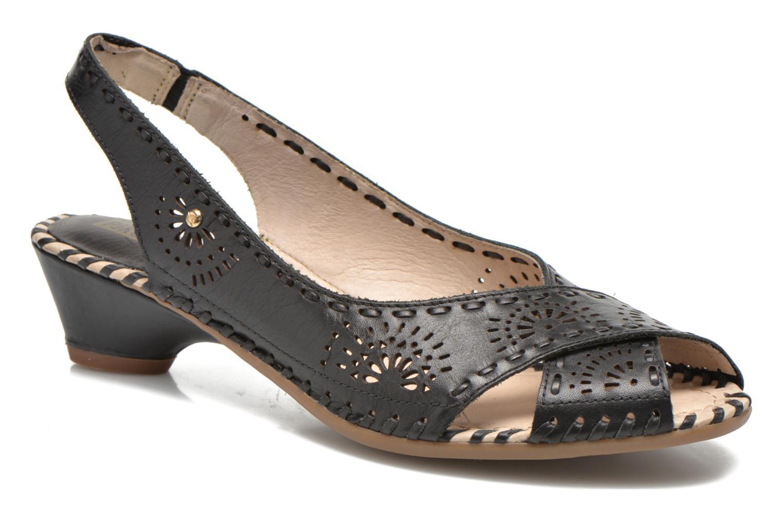 Sandales et nu-pieds Pikolinos Romana W7A-5523 Noir vue détail/paire