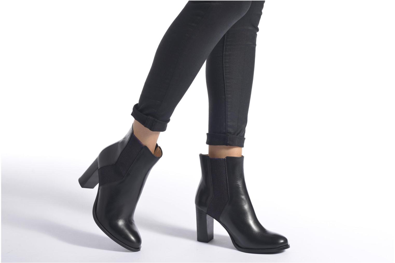 Bottines et boots Mellow Yellow Albina Noir vue bas / vue portée sac