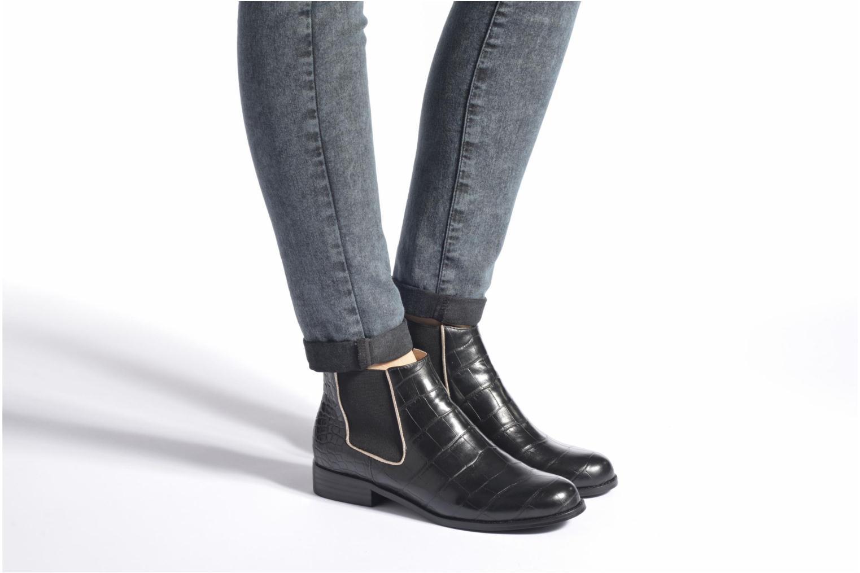 Bottines et boots Mellow Yellow Alexia Noir vue bas / vue portée sac