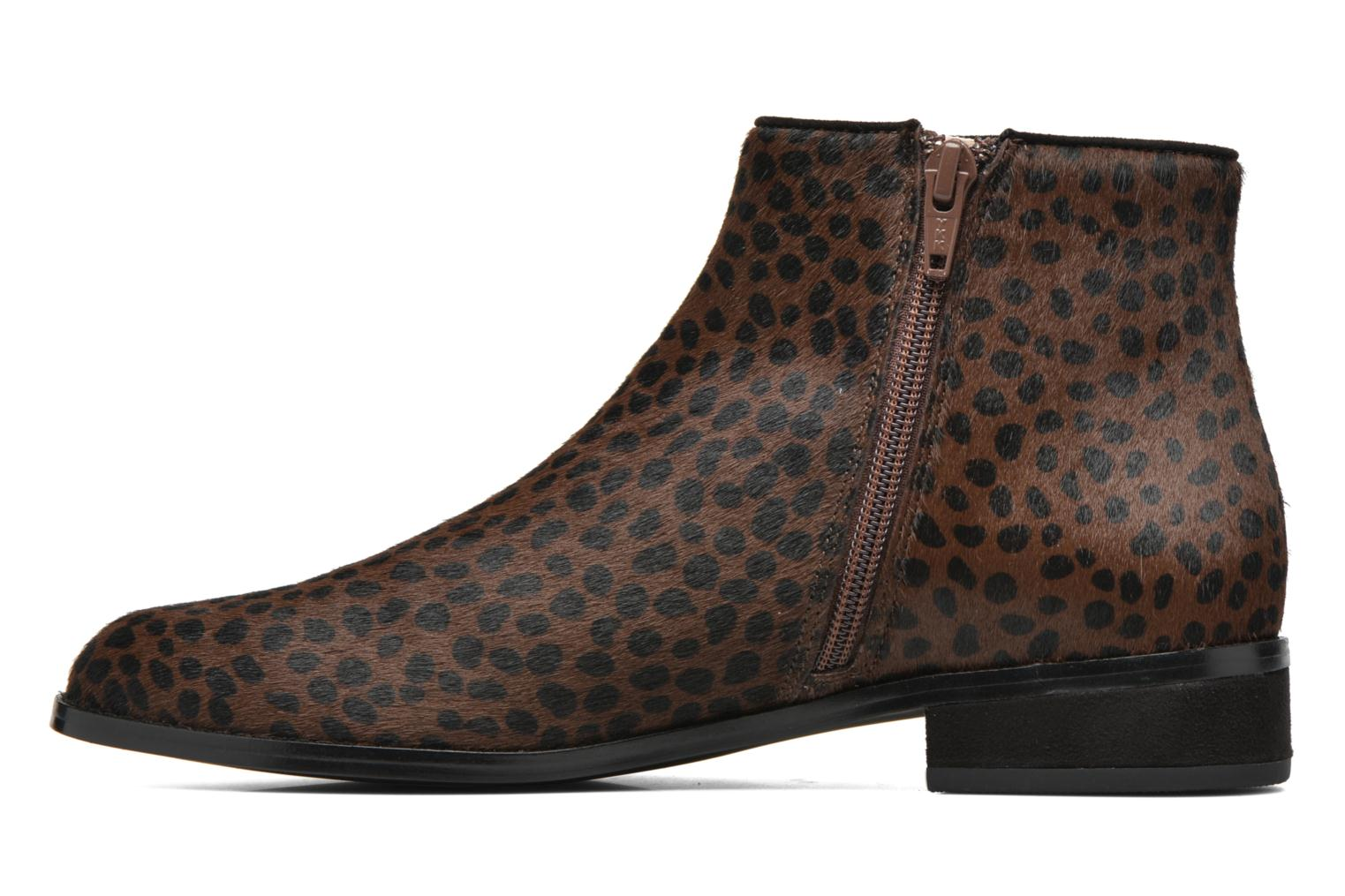 Ankle boots Mellow Yellow Alouna Brown front view