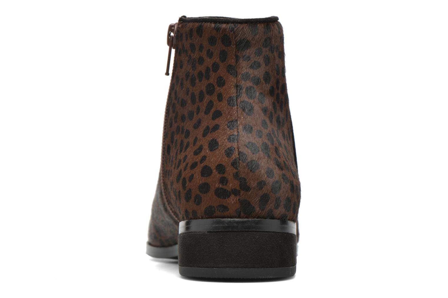 Ankle boots Mellow Yellow Alouna Brown view from the right