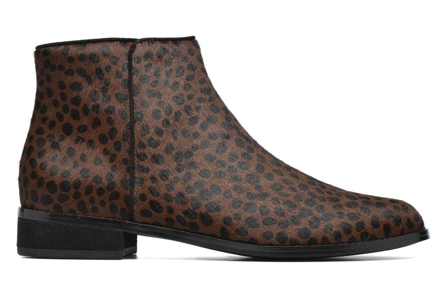 Ankle boots Mellow Yellow Alouna Brown back view