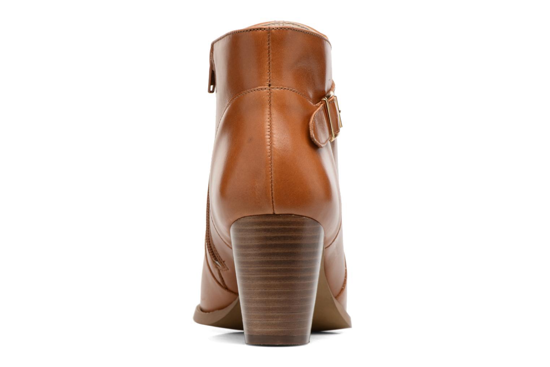 Bottines et boots Mellow Yellow Postiche Marron vue droite