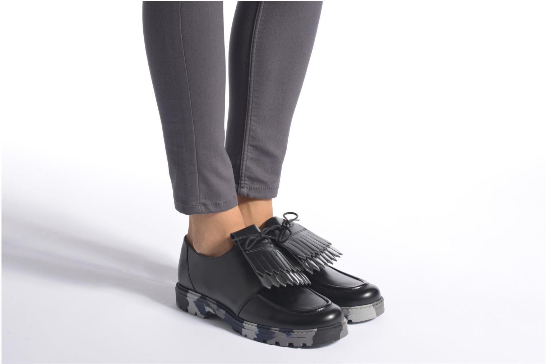 Zapatos con cordones Mellow Yellow Arsin Negro vista de abajo