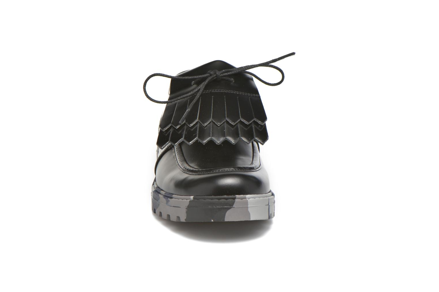 Lace-up shoes Mellow Yellow Arsin Black model view