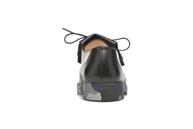 Zapatos con cordones Mellow Yellow Arsin Negro vista lateral derecha