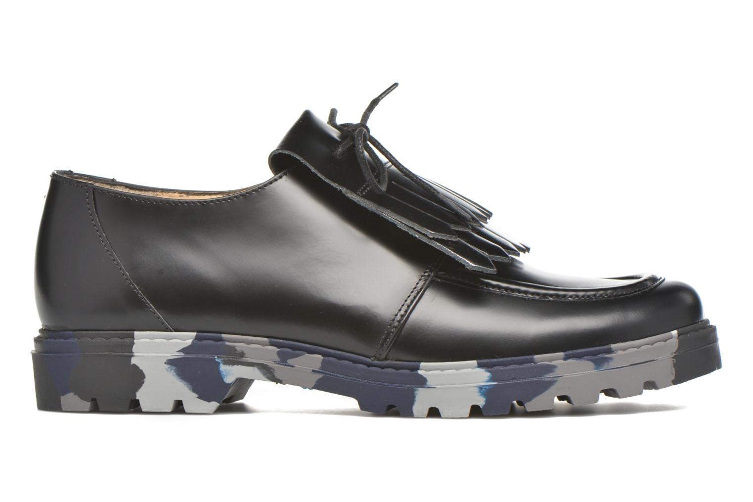 Lace-up shoes Mellow Yellow Arsin Black back view