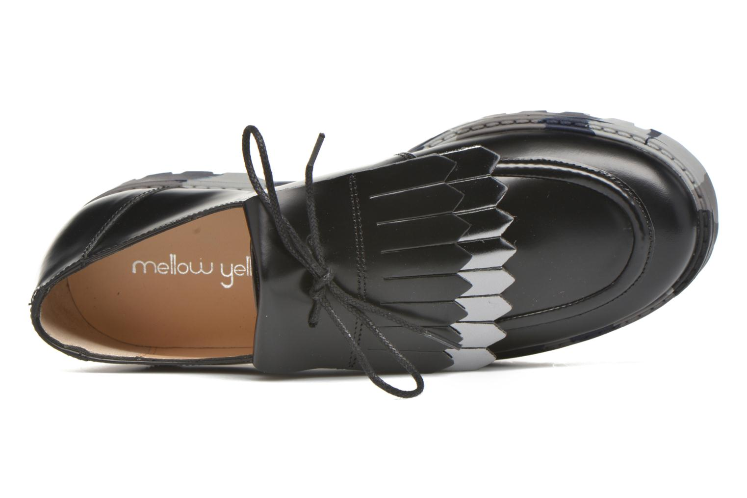 Lace-up shoes Mellow Yellow Arsin Black view from the left