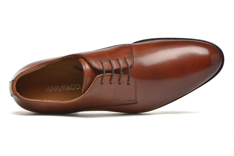 Scarpe con lacci Marvin&Co Naust Marrone immagine sinistra