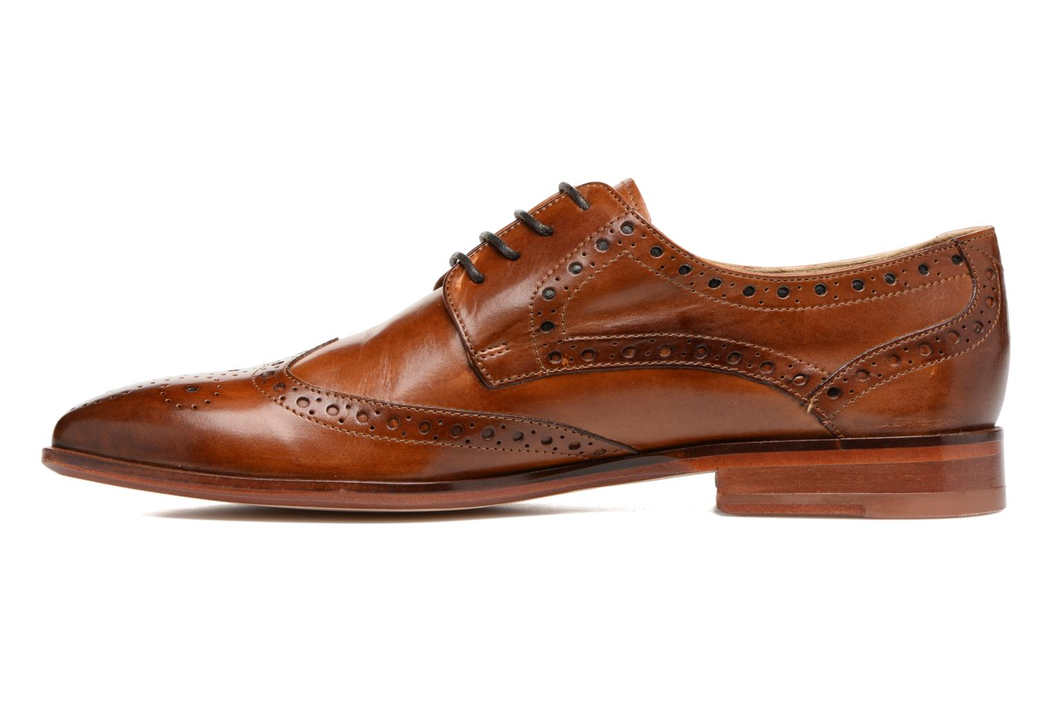 Lace-up shoes Melvin & Hamilton Jessy 6 Brown front view
