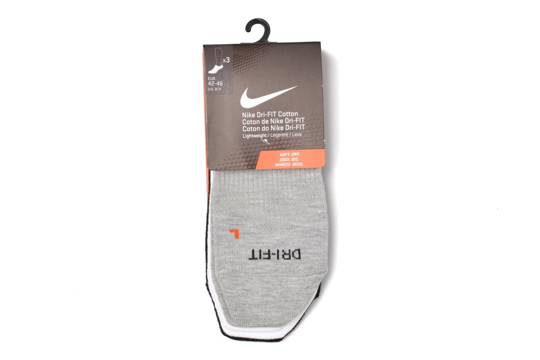 Chaussettes et collants Nike Nike Dri-FIT Lightweight No-Show Training Sock (3 Pair) Blanc vue derrière