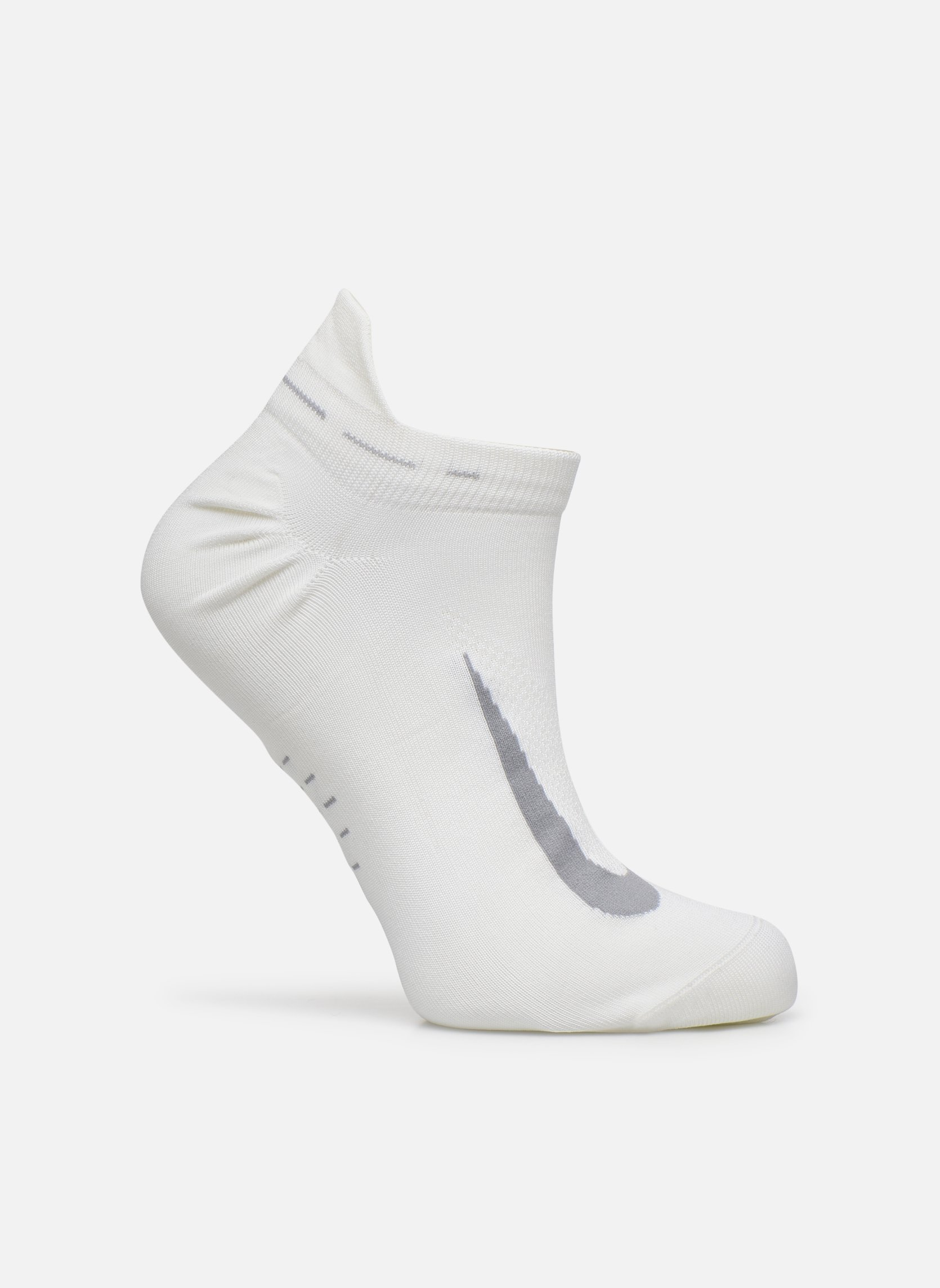 Socks & tights Nike Nike Elite Lightweight No-Show Tab Running Sock White detailed view/ Pair view