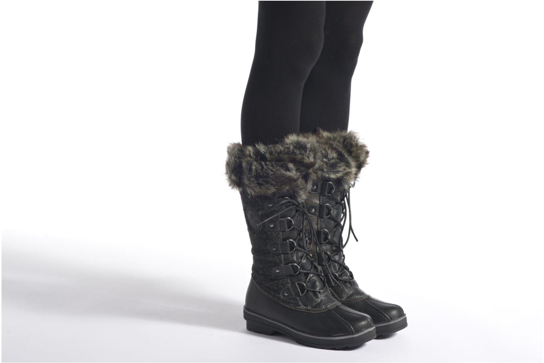 Chaussures de sport Kimberfeel Beverly Noir vue bas / vue portée sac