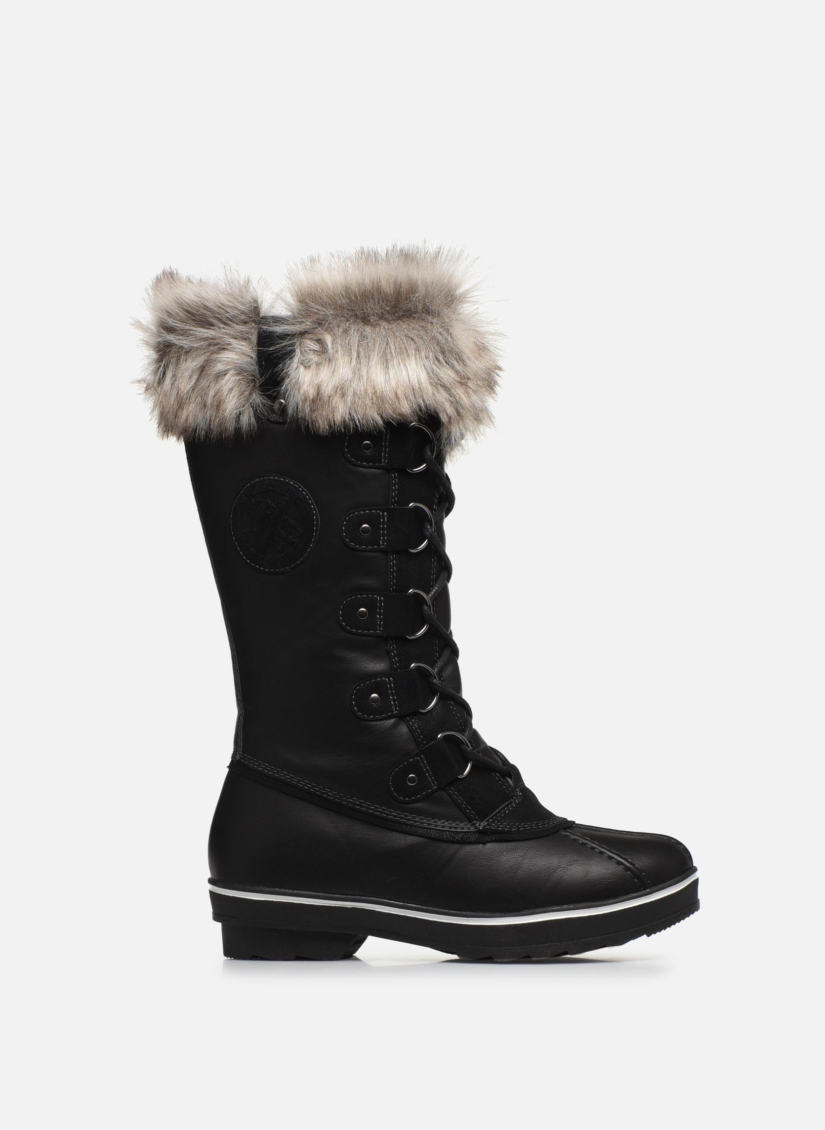 Chaussures de sport Kimberfeel Beverly Noir vue derrière