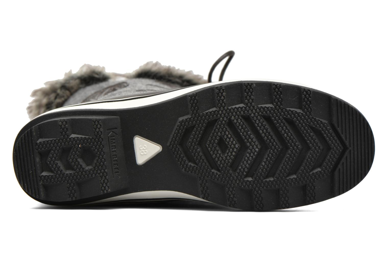Zapatillas de deporte Kimberfeel Sissi Gris vista de arriba