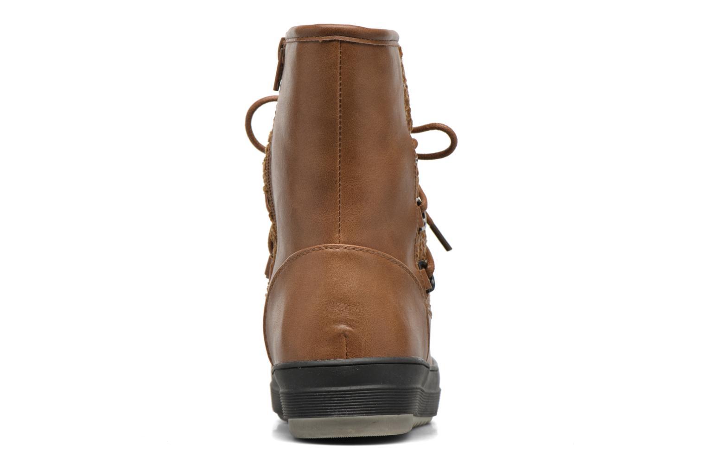 Chaussures de sport Kimberfeel Nadia Marron vue droite