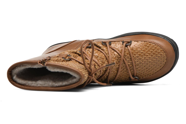 Chaussures de sport Kimberfeel Nadia Marron vue gauche