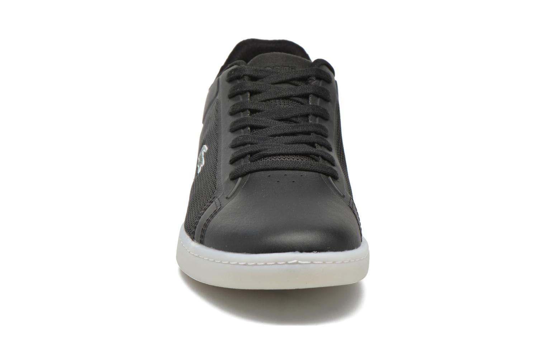 Baskets Lacoste Endliner 416 1 Noir vue portées chaussures